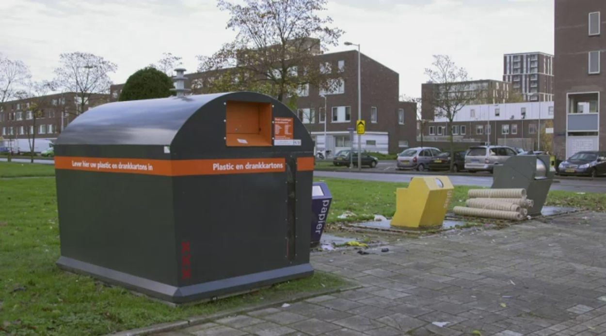 Afbeelding van De machine kan beter plastic scheiden dan de mens