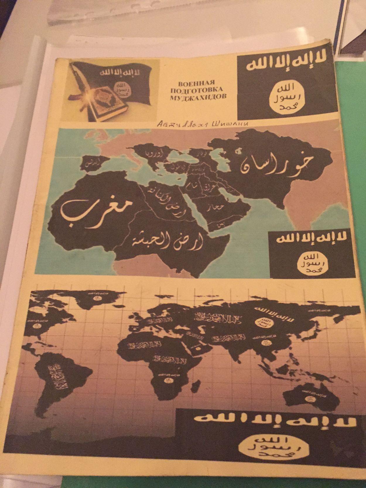 Rojava_Noord-Syrie-onderschepte_IS-literatuur_heerschappij_van_de_wereld